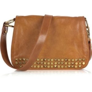 Tory Burch Linden Studded Leather Crossbody